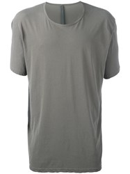 Attachment Loose Fit T Shirt Grey