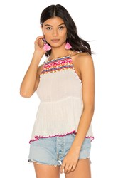 Saylor Cecily Top Ivory