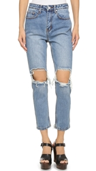 Unif Cited Jeans Med Blue