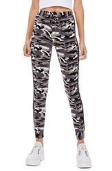 Topshop Skinny Camouflage Jogger Pants