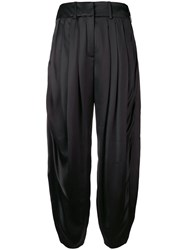 Lanvin Loose Fitting Trousers Black