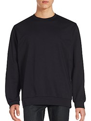 3.1 Phillip Lim Solid Ribbed Pullover Midnight
