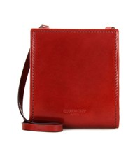 Givenchy Leather Coin Purse Red