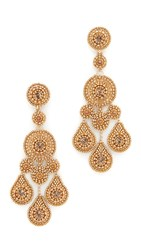 Miguel Ases Tamara Earrings Gold