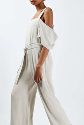 Boutique Off The Shoulder Jumpsuit By Pale Grey