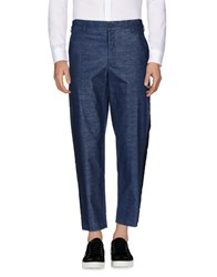 Aganovich Casual Pants Blue