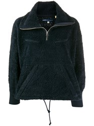 Levi's Made And Crafted Zipped Fleece Jacket Blue