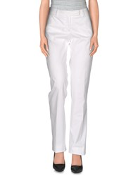 Seventy By Sergio Tegon Trousers Casual Trousers Women White