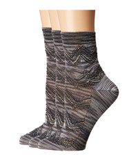 Missoni Ca00vmd64690 Grey Crew Cut Socks Shoes Gray