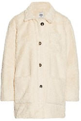 Opening Ceremony Faux Shearling Coat White