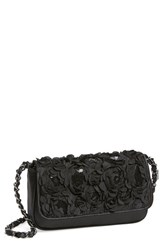 Menbur 'Lassus' Satin Clutch Black
