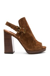 Frye Karissa Shield Sling Sandal Brown
