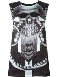 Marcelo Burlon County Of Milan Skull Print Vest Black