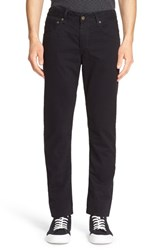 Rag And Bone Men's 'Fit 2' Cotton Twill Pants Black