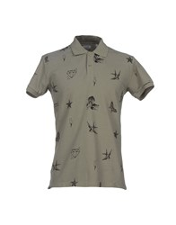 Bomboogie Topwear Polo Shirts Men Military Green
