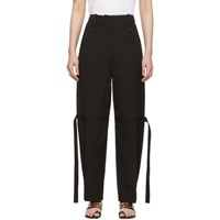 Givenchy Black Military Trousers