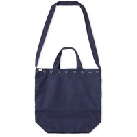 Maple Canvas Tote Bag Blue