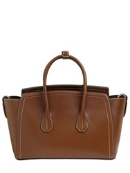 Bally Medium Leather Bag With Stitching Detail