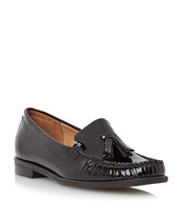 Episode Gino Tassle Loafers Black Patent