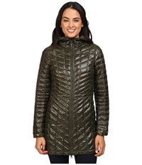The North Face Thermoball Hooded Parka Rosin Green Women's Coat