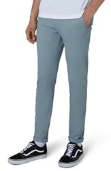 Topman Stretch Skinny Fit Chinos Mid Blue