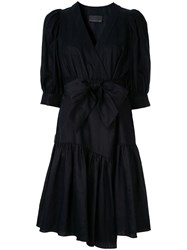 Ginger And Smart Serenity Wrap Dress Blue