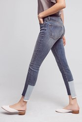 Anthropologie Pilcro Script High Rise Skinny Jeans Denim Light