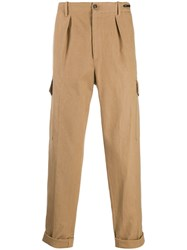 Pt01 Carrot Trousers Brown