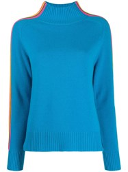 Chinti And Parker Contrasting Stripes Detail Jumper 60