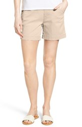 Jag Jeans Women's Ainsley Pull On Stretch Twill Shorts Stone