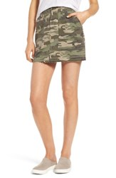Sanctuary Women's Safari Camo Skirt