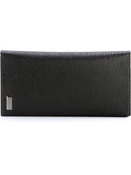 Salvatore Ferragamo Long Billfold Wallet Black