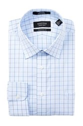 Nordstrom Non Iron Traditional Fit Dress Shirt Blue