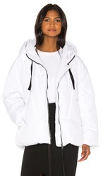 Free People Hailey Puffer In White.