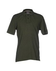 Vintage 55 Polo Shirts Military Green