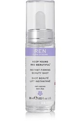 Ren Clean Skincare Keep Young And Beautiful Instant Firming Beauty Shot Colorless