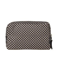 Alexander Mcqueen Mini Skull Wash Bag Black