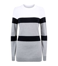 Lndr Apres Striped Sweater White