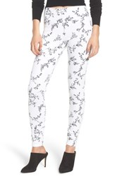 Lysse Toothpick Denim Leggings Hana White