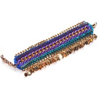 Miss High And Low Orient Bracelet Gold Blue Gold Rose Gold