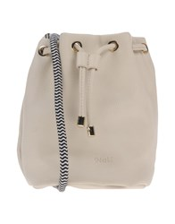Nali Handbags Light Grey