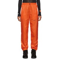 Heron Preston Orange Nylon Lounge Pants