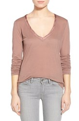 Junior Women's Project Social T 'Collette' Long Sleeve Top Gd Coco