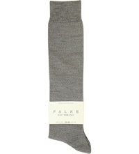 Falke Softmerino Knee High Socks 3830 Light Grey Mel