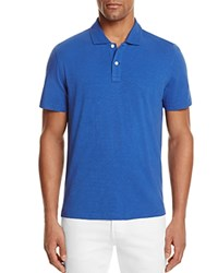 Bloomingdale's The Men's Store At Slub Jersey Enzyme Wash Classic Fit Polo Galaxy Blue