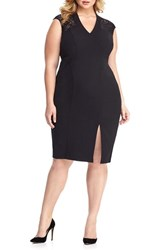 London Times Plus Size Women's Sheath Dress