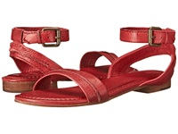 Frye Phillip Seam Ankle Papaya Soft Vintage Leather Women's Sandals Pink