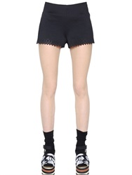 Clover Canyon Laser Cut Neoprene Shorts