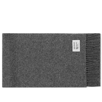 Norse Projects X Johnstons Scarf Grey