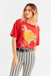 Truly Madly Deeply Tokyo Tee Red
